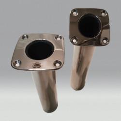 Flush mount rod holder