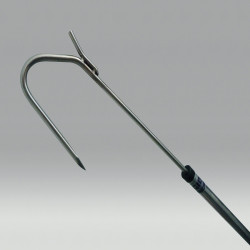 Gaff with hook