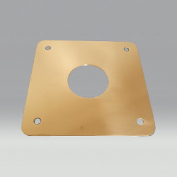 Backplate for outrigger...